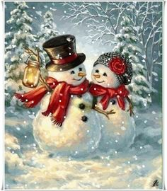 Great Free of Charge christmas Snowman painting Popular It's tricky to resist incorporating your snowman painting undertaking straight into a craft curric Christmas Scenes, Christmas Snowman, Winter Christmas, Christmas Crafts, Christmas Decorations, Christmas Ornaments, Christmas Time, Christmas Wreaths, Christmas Stickers
