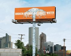 30 Creative Examples of Ambient Advertising by Denver Water Out Of Home Advertising, Clever Advertising, Advertising Design, Advertising Campaign, Funny Billboards, Water Sprinkler, Billboard Design, Commercial Ads, Guerilla Marketing