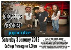Jojo Coke live at the Dread. Full info at www.dreadnoughtrock.com
