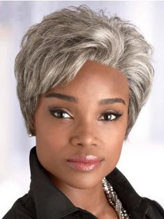 Short Straight Synthetic Wigs for Black Women