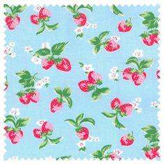Cath Kidston Mini Strawberry Haberdashery Fabric