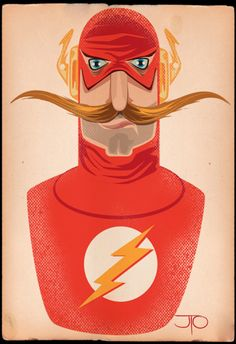 The Flash of Movember - by JTO