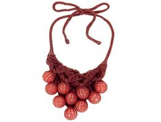 #Knitted #Necklaces Closeups by Renata Mann