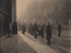 Belgian photographer Leonard Misonne (1870-1943) trained as an engineer before discovering photography. Raised in Gilly, Belgium, the photographer traveled throughout his homeland and beyond to capture the landscape and people of Europe in the Pictorialist style.