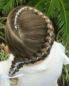 Cute summer hairdo