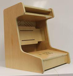 Table / Bartop Arcade Cabinet - CNC Cut - Cabinet Grade Wood    Collectibles, Arcade, Jukeboxes & Pinball, Arcade Gaming   eBay!