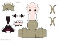 Papercraft Maka Albarn - Soul Eater