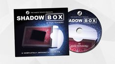 Shadow Box - A signed playing card visually appears inside a card box filled only with light!