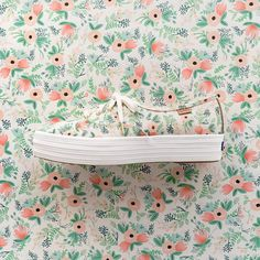 """Hello, Rifle Paper Co. × Keds! Meet the Triple-Decker Lace-Up in Wildflower. Preorder now at…"""