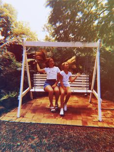 Miss You Girl, Porch Swing, Your Girl, Outdoor Furniture, Outdoor Decor, Yard Furniture, Bench Swing, Garden Furniture, Garden Swings