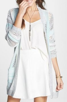 Love the sweater lhttp://www.quora.com/Luckybridal-Tlbsbm/Posts/Chic-ivory-boat-neck-lace-knee-length-bridesmaid-dress-with-3-4-sleeves?share=1