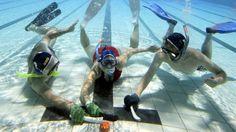 podwodny hokej