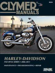 Clymer M254 Service Manual for 2006-11 Harley-Davidson FXD Dyna Series