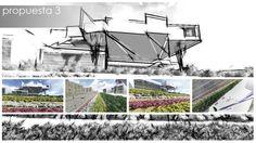 Adecuación paisajística Palacio de Ferias de Málaga:propuesta preliminar - Propuesta 3 http://www.ingepaisajes.com/album/adecuacion-paisajistica-palacio-