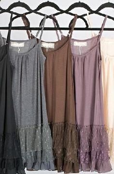 Under a cute jacket or sweater--Cowgirl Vintage Lace Ruffle Dress - great for layering Lace Ruffle, Ruffle Dress, Dress Skirt, Ruffles, Strapless Dress, Boho Fashion, Autumn Fashion, Womens Fashion, Petite Fashion