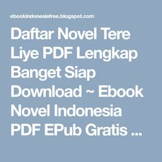 Novel Romance Indonesia Pdf