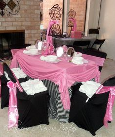 table decor idea, would love to have this set up at my house for all my home facials...