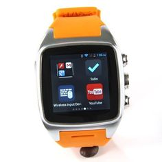iMacwear SPARTA M7 Smart Watch Phone - IP67 , 1.54 Inch Screen, 5.1 OS, Dual Core CPU, 3G, Orange