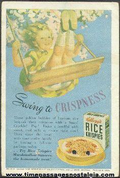 old kelloggs rice krispies