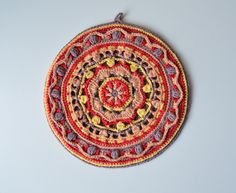 Mandala Pot Holder!