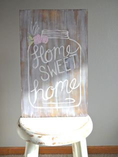 Wooden Old Mason Jar Sign by katieruebel on Etsy https://www.etsy.com/listing/213582981/wooden-old-mason-jar-sign