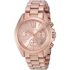 Michael Kors Womens Watch Watches Birthday Anniversary Gift For Her Rose Gold #MichaelKors