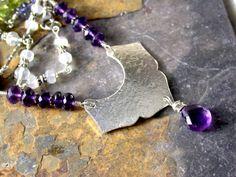 My Jewelry! Spiritual Awakening Fine Jewelry  Chakra Necklace by LindaGeez