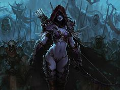 Image result for storyline of lady sylvanas