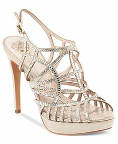 Vince Camuto Janene Platform Evening Sandals. Thinking about these for wedding shoes