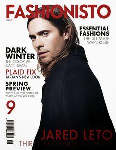 Male Fashion Trends: Jared Leto y 30 Seconds to Mars en portada de Fashionisto Magazine #9