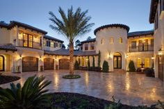 mediterranean style mansions - Google Search