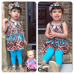"""""""maybrie"""" genevieve style lap dress by Sew Chill"""