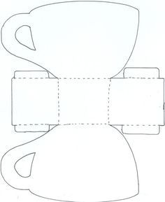 Resultado de imagem para templates for paper tea cups Diy Gift Box, Diy Gifts, Paper Tea Cups, Paper Purse, Alice In Wonderland Tea Party, Teapots And Cups, Mad Hatter Tea, Templates Printable Free, Printables