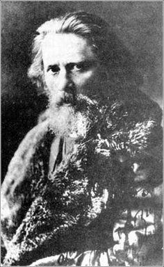 Zichy Mihály fényképe 1881-ből.