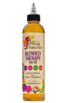 Alikay Naturals  Blended Therapy Hot Oil Treatment 8oz -- See this great product.