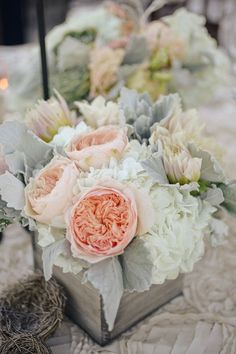 Gorgeous and Timeless #Wedding Decor Ideas. | peach wedding | peach and gray wedding