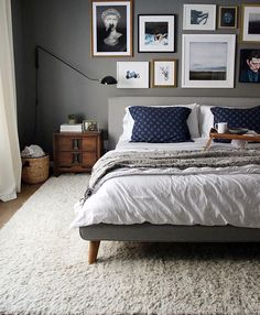 Bedroom from @westelm