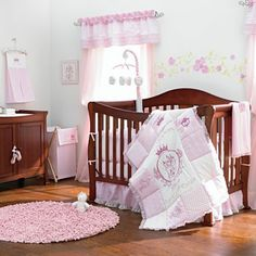 Because dat baby needs a place to sleep! ABC Company Christie 3-pc. Baby Furniture Set - Cherry