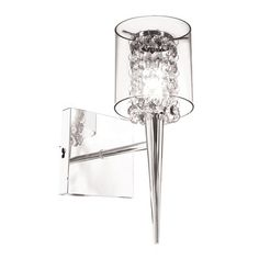 BAZZ Lighting M3820CB Glam Topaz 1 Light Wall Sconce