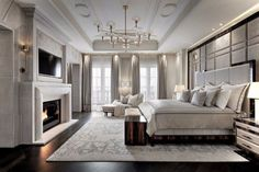 20 Luxurious Bedroom Design Ideas To Copy Next Season | Home Decor. Interior Design Inspiration. Bedroom Decor. #bedroomdesign #bedroomdecor #homedecor Read more: https://www.brabbu.com/en/inspiration-and-ideas/interior-design/luxury-bedroom-design-ideas-want-copy-season