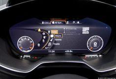 Audi TT Virtual Cockpit: Music
