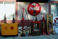 national 80 antique gas pumps - Recherche Google
