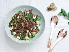 Griekse Salade met Vijgen en meloen