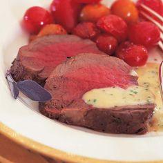 Filet of Beef with Gorgonzola Sauce - Barefoot Contessa