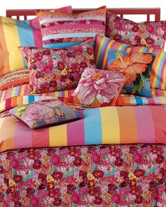 How's this for a colorful bed.