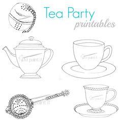 Tea Party Printables