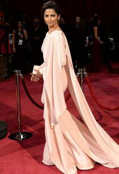 Camila Alves, love that beautiful long dress.