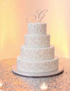 Wedding cake idea; Featured Photographer: 13:13 Photography