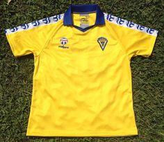 CADIZ CF 1986/87, Retro Jersey (Men), Magico Gonzalez Cadiz, Polo Shirt, Polo Ralph Lauren, Retro, Sports, Mens Tops, Stuff To Buy, Fashion, Yellow Submarine