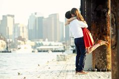 engagement photos at boston harbor. Photography by oncelikeaspark.com
